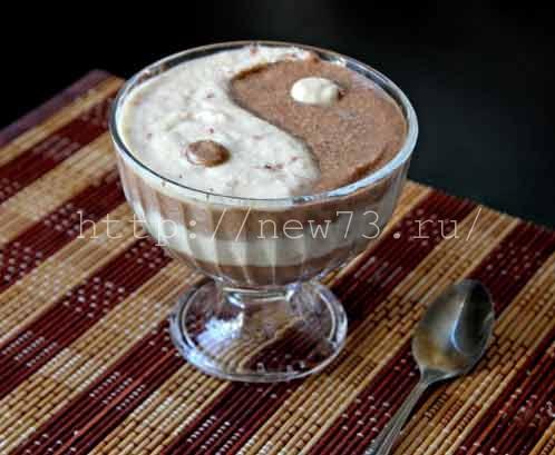 Фото десерт сыроеда Инь Янь